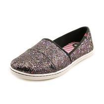 Roxy Matey Womens Size 10 Black Textile Flats Shoes Used Photo