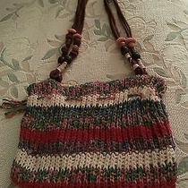 Roxy Multi Knit/crochet Purse Photo