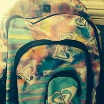Roxy Multi Logo Bright Colored Backpack Photo