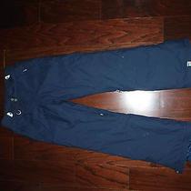 Roxy Navy Blue 5000 Snowboard Ski Pants Womens Sz Xs Photo