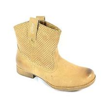 Roxy New/display Buckeye Womens Size 6 Tan Faux Leather Causal Ankle Boots Photo