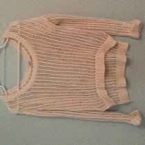 Roxy Off White Sweater Small Photo