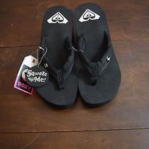 Roxy Palika Wedge Platform Flip Flop Sandals Shoes Womens Size 9 Photo