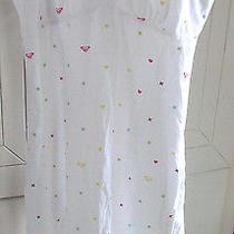Roxy Quiksilver Teddy Baby Doll Pajama Dress Sleep Dress Size Xswhitenew Photo