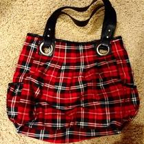 Roxy Red/black Plaid Purse  Photo