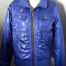 Roxy Royal Blue Bomber Jacket Large Photo