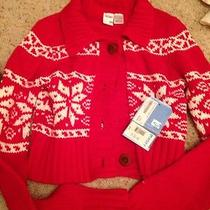 Roxy Sweater Snow Bunny Style Small New Photo