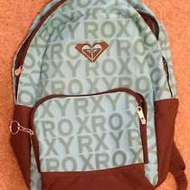 Roxy Teal/brown Backpack Photo