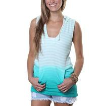 Roxy Tropical Beat Juniors Tank Top - Aqua - M Photo