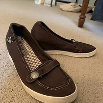 Roxy Wedge Sneaker Shoes 7.5 Photo