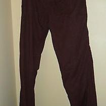 Roxy Women's Dark Purple Boho Artsy Pants Large  Photo