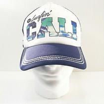 Roxy Women's Girls' Baseball Hat Cap Surfin' Cali Adjustable Snapback Mesh Back Photo