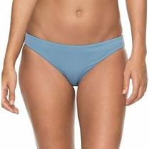 Roxy Women's Swimwear Blue Size Small S Bikini Swimsuit Bottom Solid 42- 932 Photo