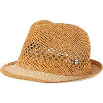 Roxy Women's Talk About It Straw Hat M/l Lark Photo