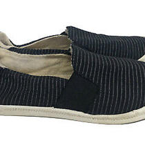 Roxy Womens 9.5 Slip on Flats Sneakers Loafers Casual Black Photo