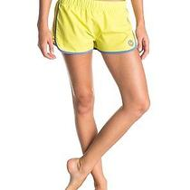 Roxy Womens Lineup Short Limeade Solid Nwt Photo