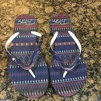 Roxy Womens Tahiti Flip Flops Size 7/8 Nwot Photo