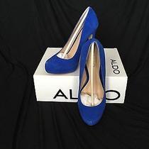 Royal Blue Aldo Pump Photo