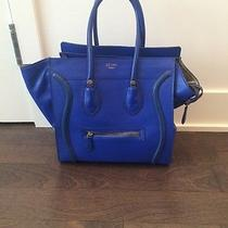 Royal Blue Celine Handbag Photo