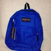 Royal Blue Jansport Backpack Photo