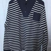 Rrl Lambs Wool Nautical Striped Sweater Xxl  395 Ralph Lauren Photo