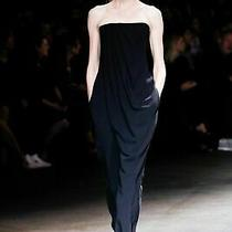Rrp 4.5k New Givenchy Black Draped Strapless Romper Jumpsuit It 36 Xs Xxs Photo