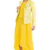 Rrp 1080 Boutique Moschino Jacquard Blazer Jacket Size 40 / S Single Breasted Photo