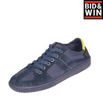 Rrp 110 Diesel S-Millenium Lc Knitted Leather Sneakers Size 43 Uk 9 Us 10 Photo