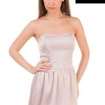 Rrp 125 Guess Bubble Dress Size S Elasticated Back Sleeveless Bandeau Photo