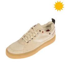 Rrp 130 Diesel S-Danny Lc Ii Sneakers Size 43 Uk 9 Us 10 Suede Trim Worn Look Photo