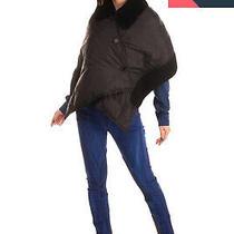 Rrp 1340 Marni Down Cape Jacket Size 38 / Xs Waterproof Shearling Trim Cropped Photo