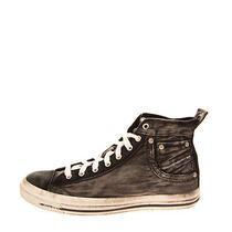 Rrp 140 Diesel Exposure I Denim Sneakers Size 43 Uk 9 Us 10 Worn & Dirty Look Photo