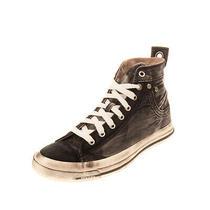 Rrp 140 Diesel Exposure Iv W Canvas Sneakers Size 38.5 Uk 5.5 Us 8 Dirty Look Photo