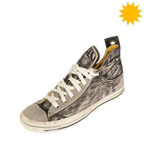 Rrp 140 Diesel Exposure Iv W Canvas Sneakers Size 38.5 Uk 5.5 Us 8 Dirty Look Photo