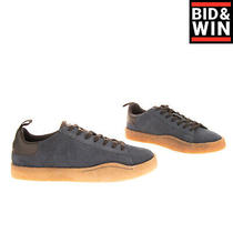 Rrp 140 Diesel S-Clever Par Low Leather Sneakers Size 43 Uk 9 Us 10 Lace Up Photo