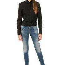 Rrp 155 Diesel Jeans W26 L30 Faded Low Waist Skinny Fit Grupee 0670k Stretch Photo