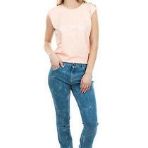 Rrp 180 Sonia by Sonia Rykiel Jeans Size 36 / Xs Stretch Distressed Garment Dye Photo