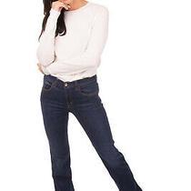 Rrp 185 Armani Jeans Blue Jeans Size 33 Stretch Garment Dye Contrast Stitching Photo