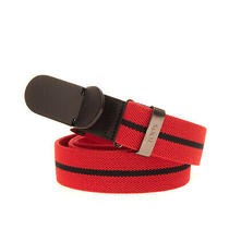 Rrp 185 Tod's Woven Belt Size 120 / 48 Striped Pull Through Made in Italy Photo
