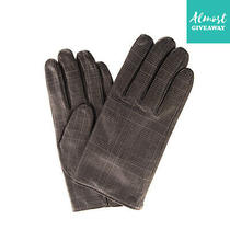 Rrp 215 Emporio Armani Lamb Leather Gloves Size L Wool Lined Made in Italy Photo