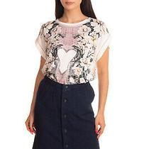 Rrp 220 a.p.c. Rue Madame Paris Straight Skirt Size S Garment Dye Button Front Photo