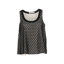 Rrp 225 See by Chloe Lace Vest Top Size 40 / Xs Fully Lined Scoop Neck Photo