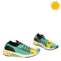 Rrp 235 Diesel S-Kb Crackle Slip on Sneakers Eu 43 Uk 9 Us 10 Cracked Sock Like Photo