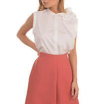 Rrp 240 See by Chloe Flare Skirt Size 42 / S Gathered Unlined Zipped Photo
