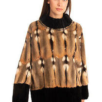 Rrp 2430 Dsquared2 Rabbit Fur Jacket Size 38 / Xs Pullover Made in Italy Photo