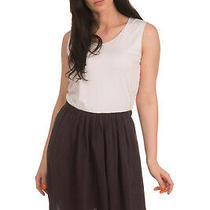 Rrp 245 See by Chloe Satin Fluid Skirt Size 40 / Xs Gathered Elasticated Waist Photo