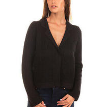 Rrp 250 Armani Jeans Cardigan Size 38 / Xs Wool Blend Medium Knit Single Popper Photo