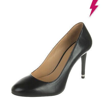 RRP €250 MICHAEL MICHAEL KORS Leather Mismatch Size L 37 R 36 High Heel Slip On Photo