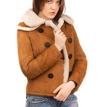 Rrp 2505 Dsquared2 Shearling Jacket Size 38 / Xs Double Breasted Made in Italy Photo