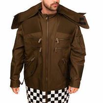 Rrp 2565 Dsquared2 Parka Style Jacket Size 52 / Xl Check Hem Detachable Hood Photo